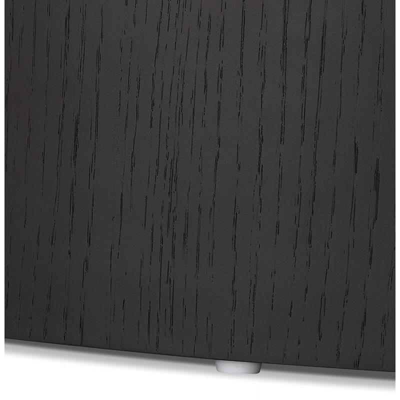 Set de 2 tables d'appoint design en bois RUSSEL (noir) - image 48400