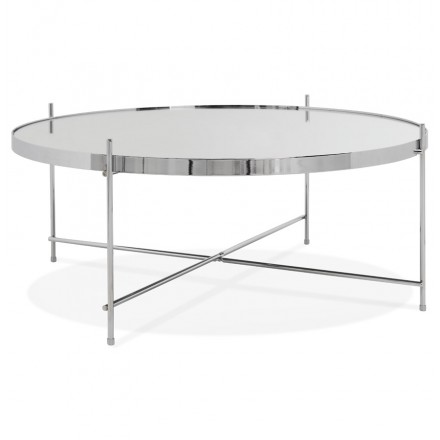 Table basse design RYANA BIG (chrome)