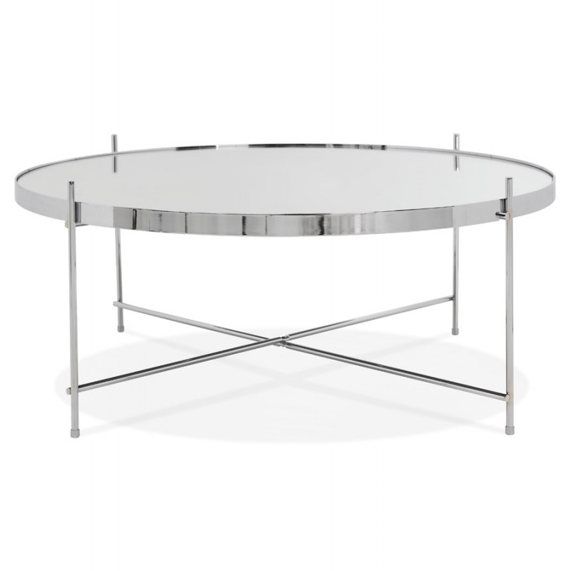 Table basse design RYANA BIG (chrome) - image 48460