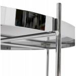 Table basse design RYANA BIG (chrome)