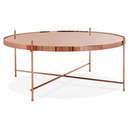 Table basse design RYANA BIG (cuivre)