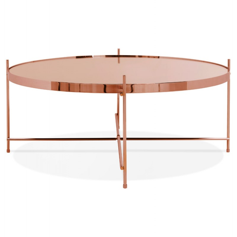 Table basse design RYANA BIG (cuivre) - image 48477