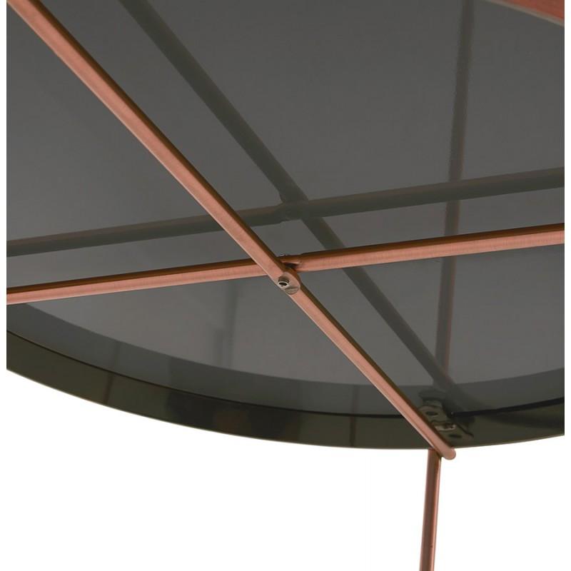 Table basse design RYANA BIG (cuivre) - image 48480