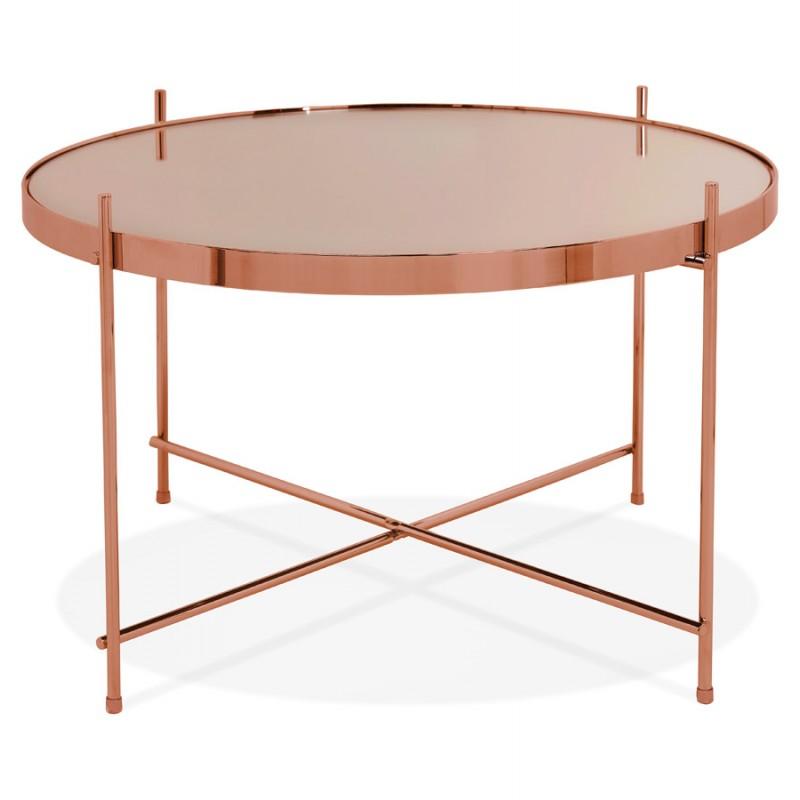 Table basse design, table d'appoint RYANA MEDIUM (cuivre) - image 48500