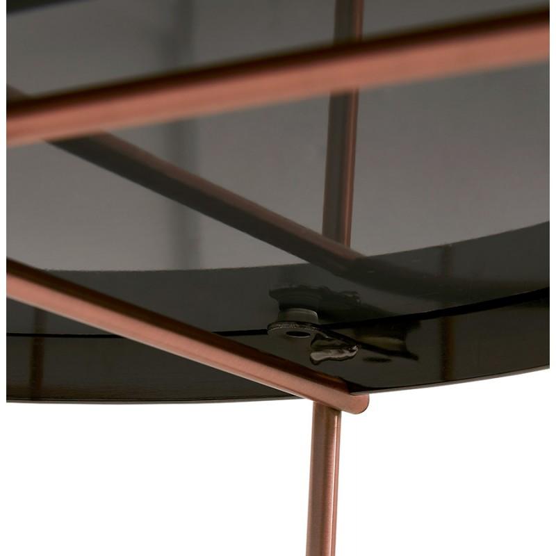 Table basse design, table d'appoint RYANA MEDIUM (cuivre) - image 48503