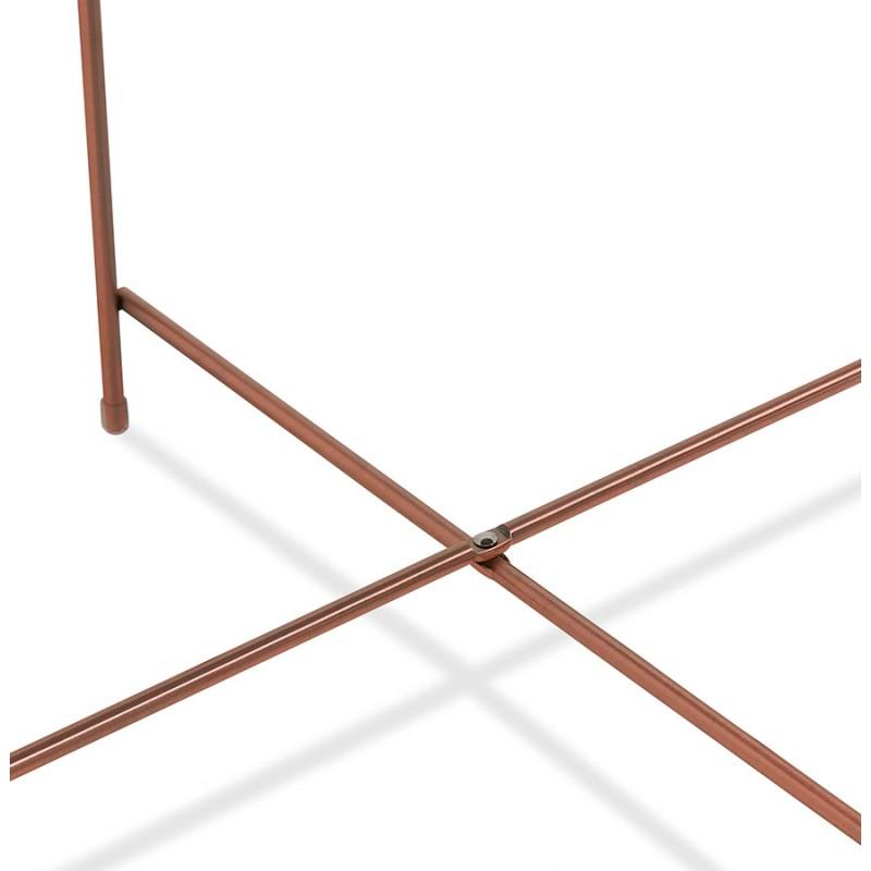 Table basse design, table d'appoint RYANA MEDIUM (cuivre) - image 48505