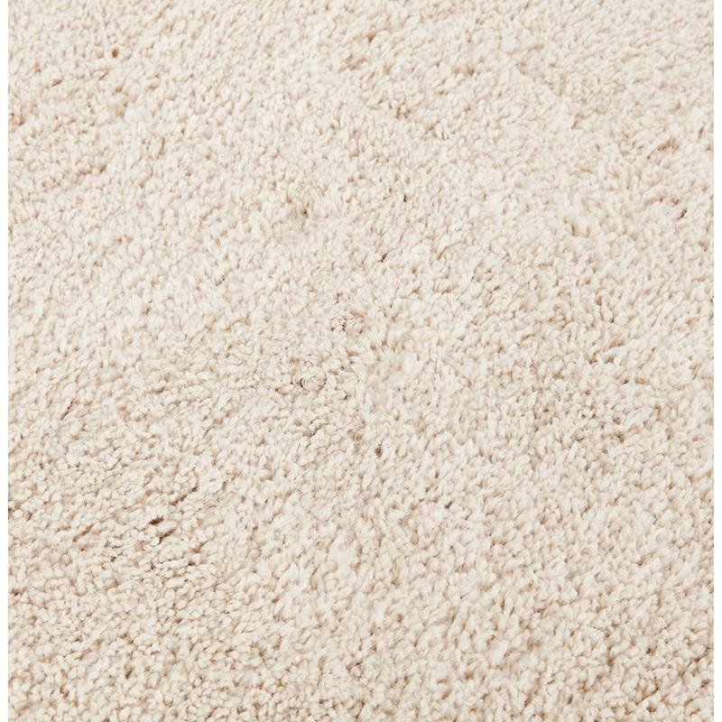 Alfombra de diseño redondo (200 cm) SABRINA (beige) - image 48536