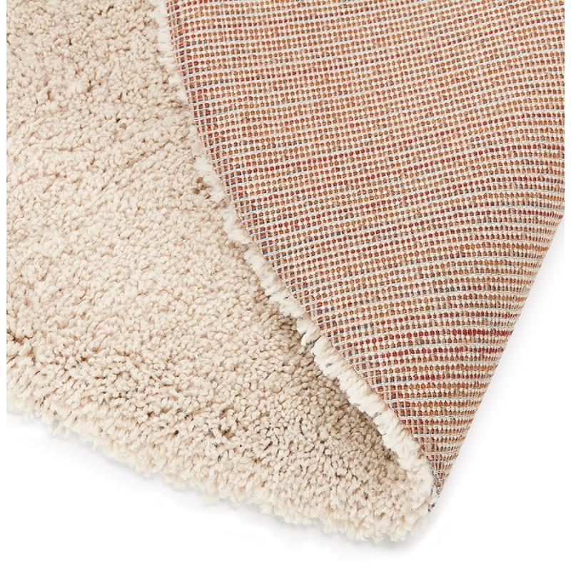 Tapis design rond (Ø 160 cm) SABRINA (beige) - image 48541