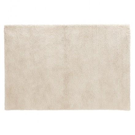 Tapis design rectangulaire - 120x170 cm SABRINA (beige)