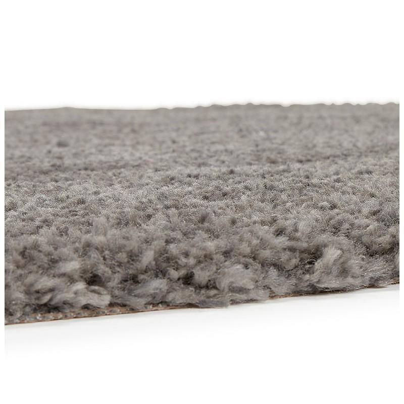 Tapis design rond (Ø 200 cm) SABRINA (gris foncé) - image 48563