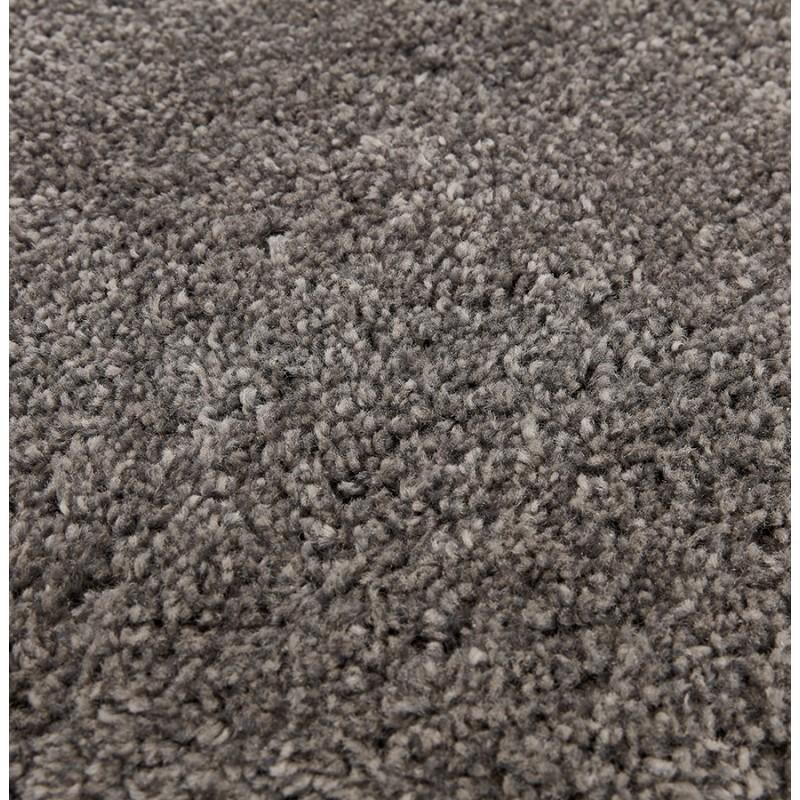 Tapis design rond (Ø 200 cm) SABRINA (gris foncé) - image 48565