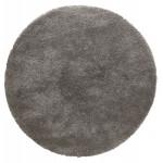 Alfombra de diseño redondo (160 cm) SABRINA (gris oscuro)