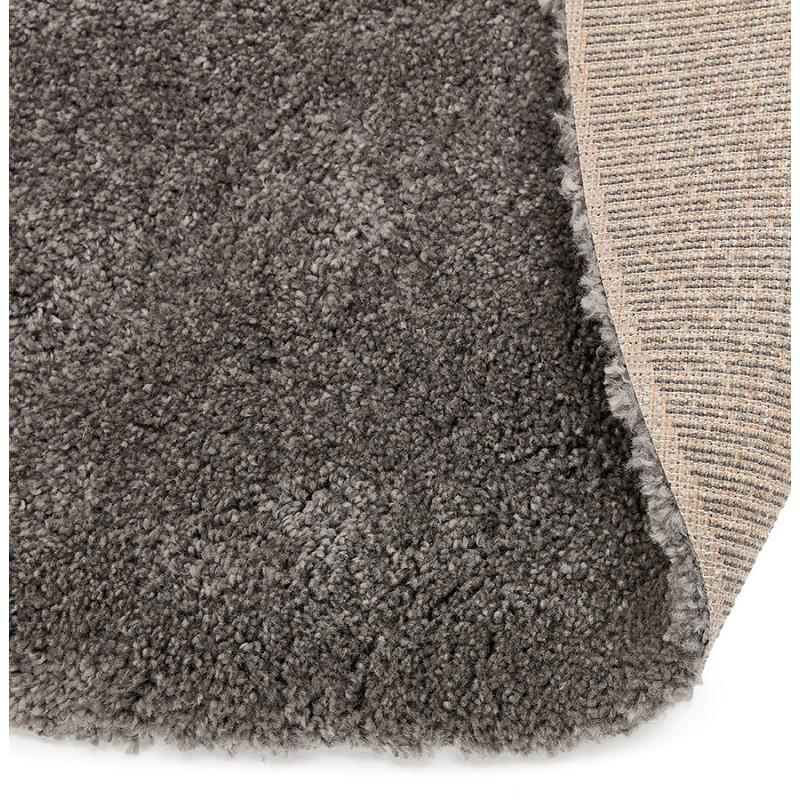 Tapis design rond (Ø 160 cm) SABRINA (gris foncé) - image 48574