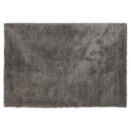 Tappeto di design rettangolare - 160x230 cm SABRINA (grigio scuro)