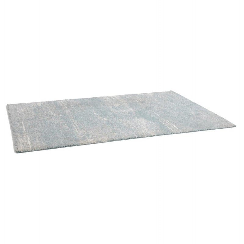 Tapis design rectangulaire - 160x230 cm - SHERINE (bleu ciel) - image 48645