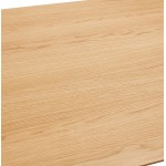 Tavolo da pranzo o scrivania in legno in stile scandinavo (180x90 cm) (naturale)