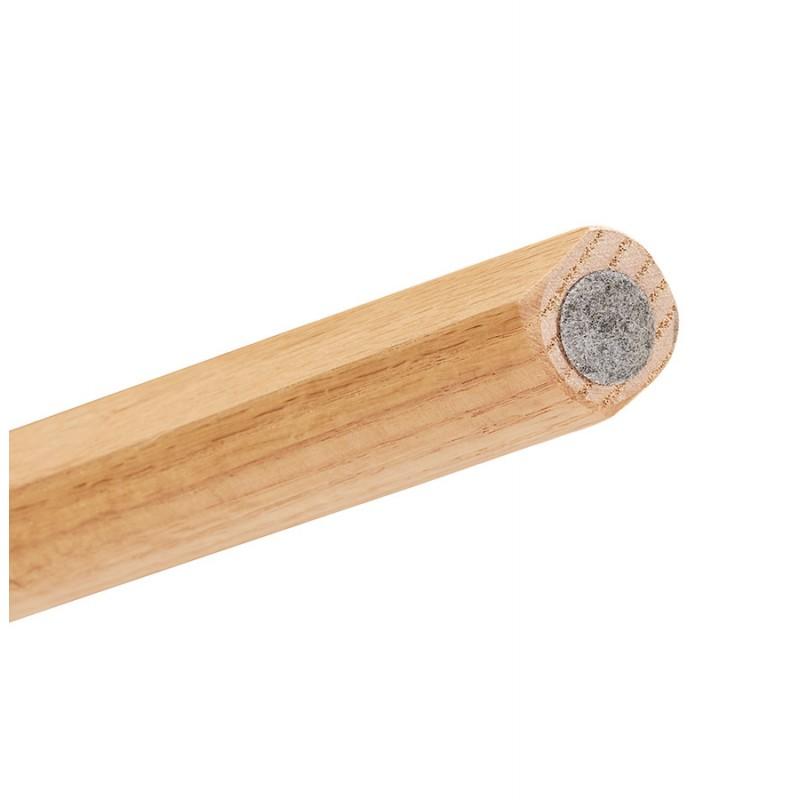 Table à manger design ou bureau style scandinave en bois (180x90 cm) ZUMBA (naturel) - image 48974