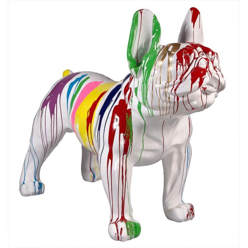 Statue sculpture décorative design CHIEN XL en résine H140 cm (Multicolore) - image 49288