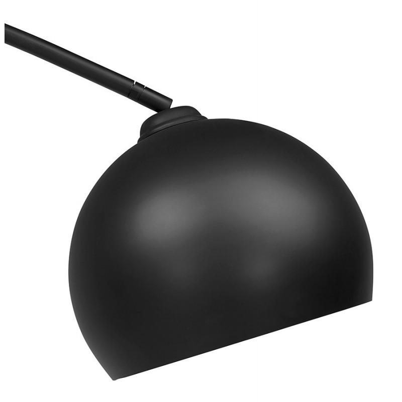 Lámpara de arco de diseño de metal SWEET (negro mate) - image 49315