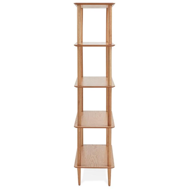 Etage Design Bibliothek skandinavischer Stil aus ERIKA Eiche (natürlich) - image 49383