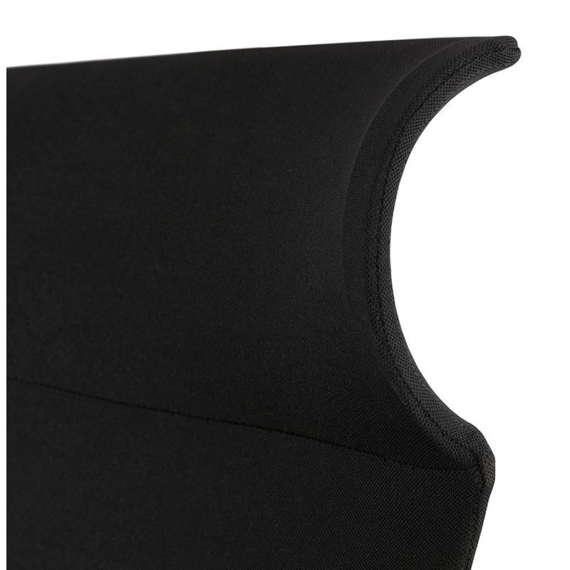 Fauteuil de bureau en tissu AYUMI (noir) - image 49454