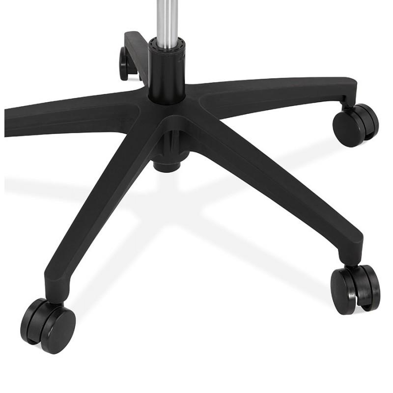 Schreibtischsessel aus AYUMI Stoff (schwarz) - image 49458