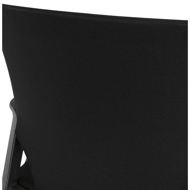 Fauteuil de bureau en tissu YOKO (noir) - image 49471