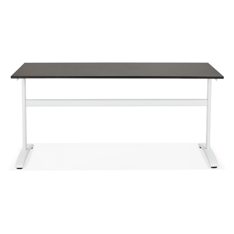 SONA white-footed wooden right desk (160x80 cm) (black) - image 49511