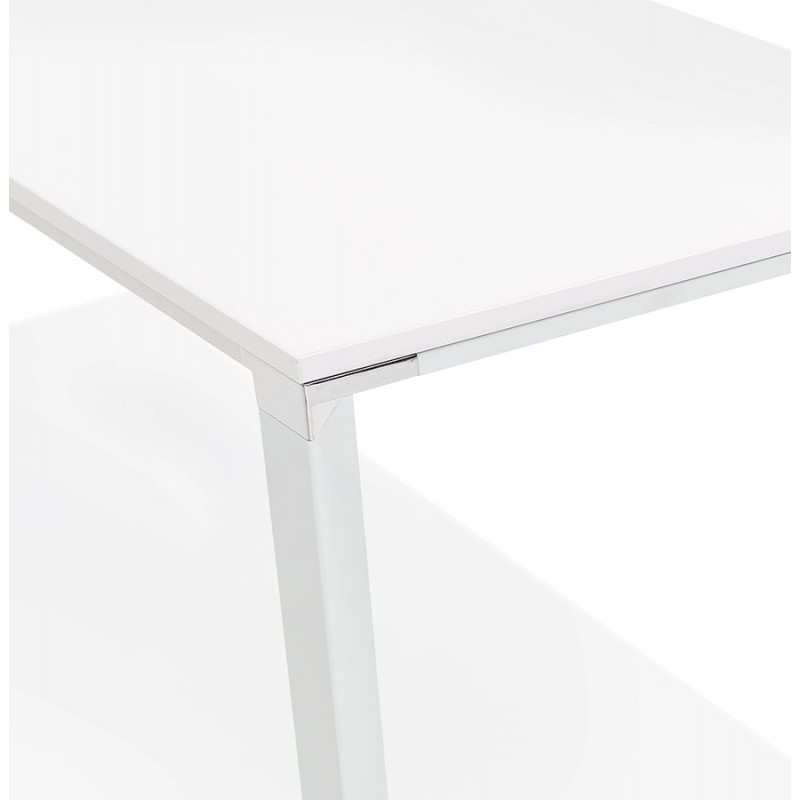 NORA wooden design meeting table (200x100 cm) (white) - image 49629