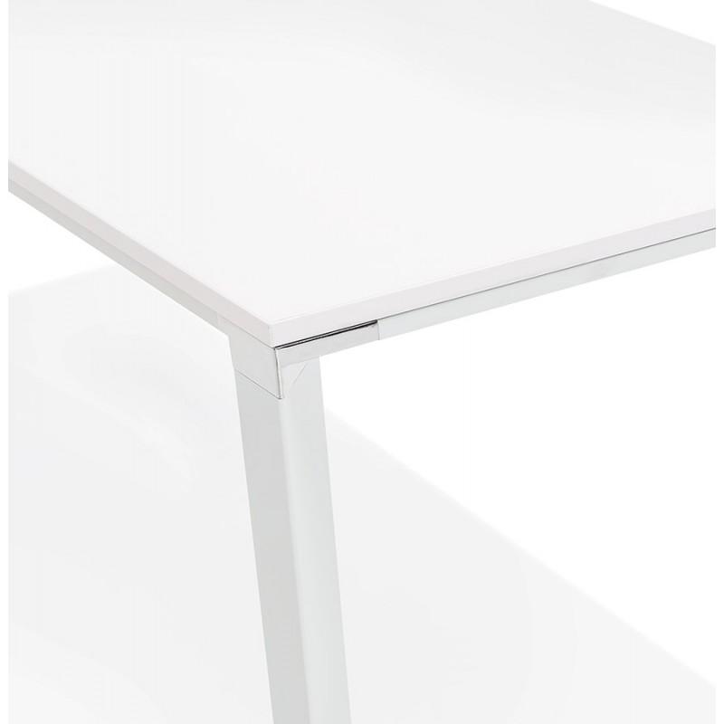 Tavolo da pranzo noRA in legno (200x100 cm) (bianco) - image 49629