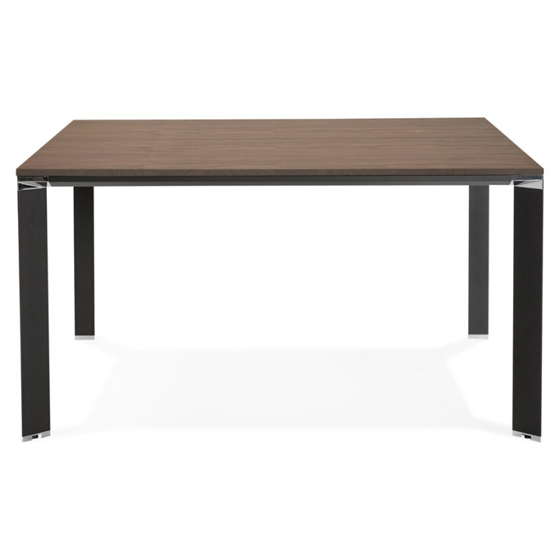 BENCH desk modern meeting table wooden black feet RICARDO (140x140 cm) (drowning) - image 49694