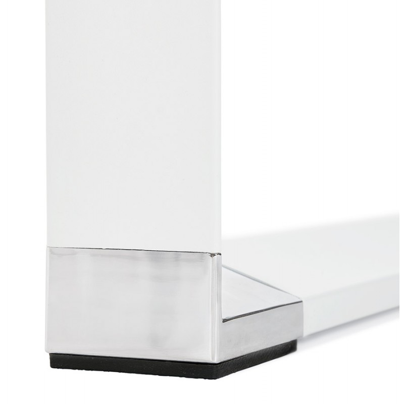 Disegno ufficio destro piedi bianchi in legno BOUNY (140x70 cm) (naturale) - image 49725