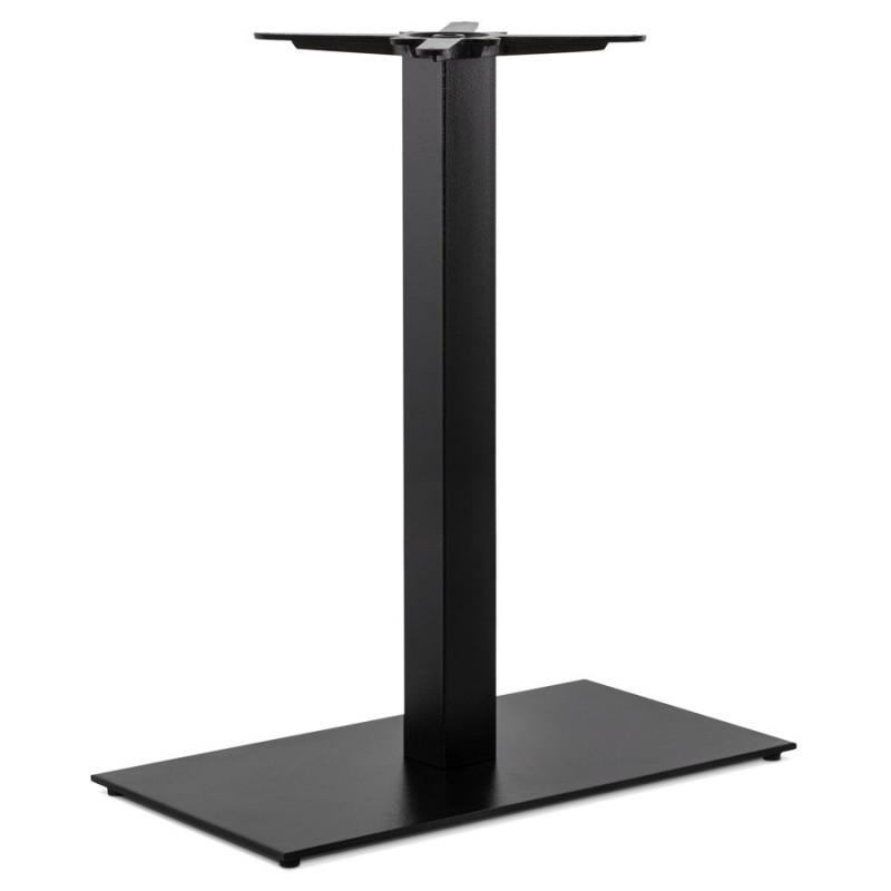 RamBOU XL rectangular metal table top (75x40x88 cm) (black)