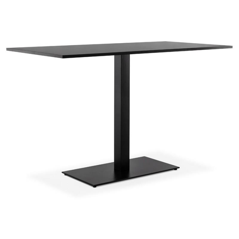 RamBOU XL rectangular metal table top (75x40x88 cm) (black) - image 49898