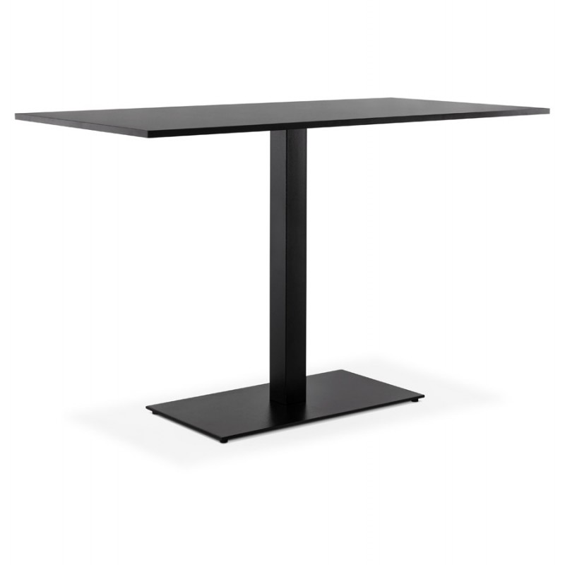 Pied de table rectangulaire en métal RAMBOU XL (75x40x88 cm) (noir) - image 49898