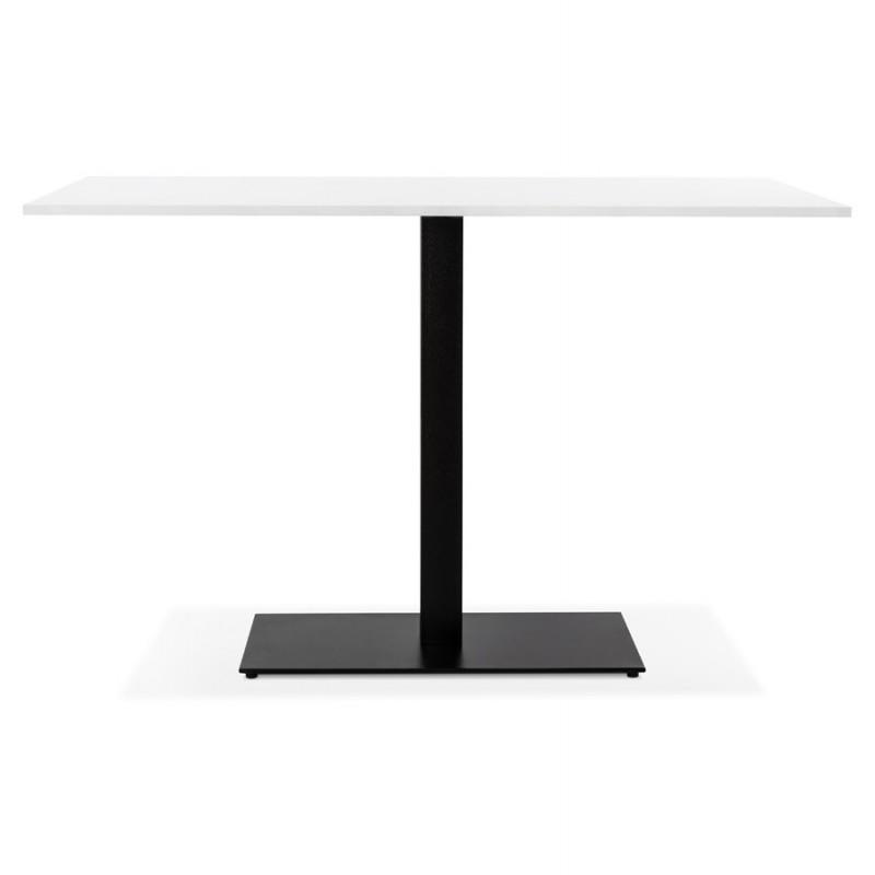 Pied de table rectangulaire en métal RAMBOU XL (75x40x88 cm) (noir) - image 49899