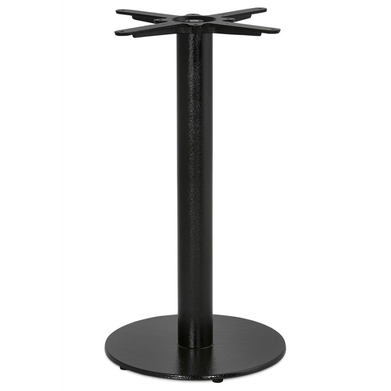 THELMA metal round table foot (40x40x73 cm) (black)