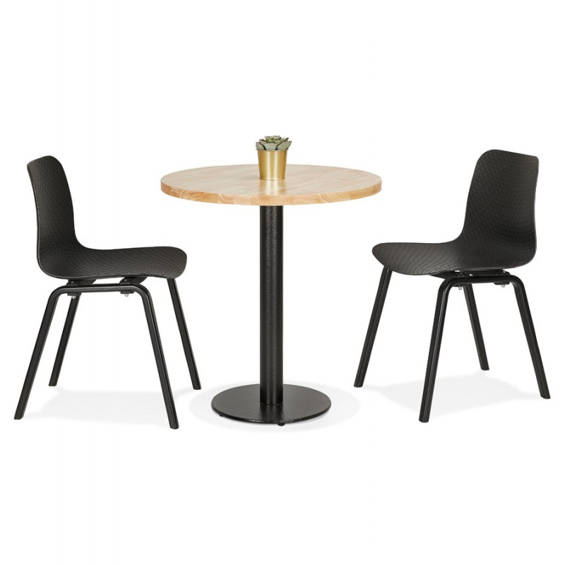 THELMA metal round table foot (40x40x73 cm) (black) - image 49906