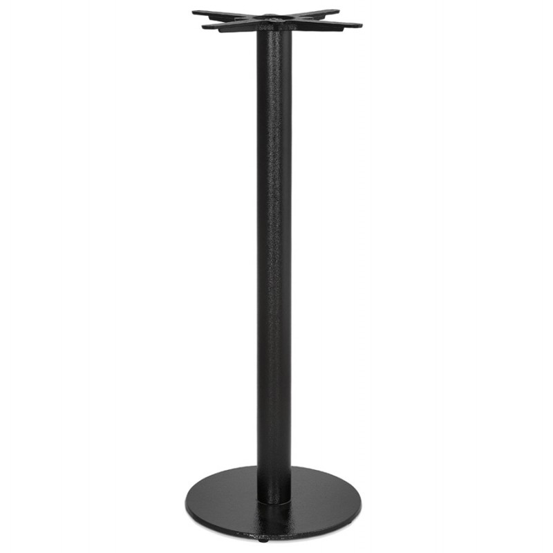 THELMA metal round table foot (40x40x110 cm) (black)