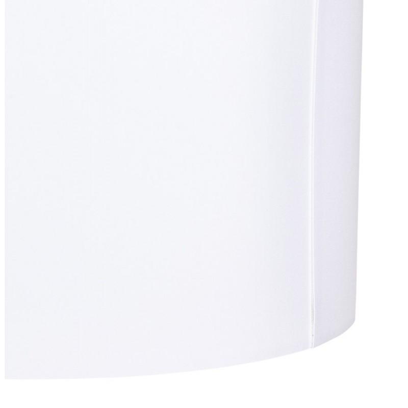 Lampe à poser design avec abat-jour sur trépied noir TRANI MINI (blanc) - image 49956