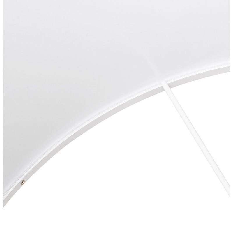 Lampe à poser design avec abat-jour sur trépied noir TRANI MINI (blanc) - image 49957