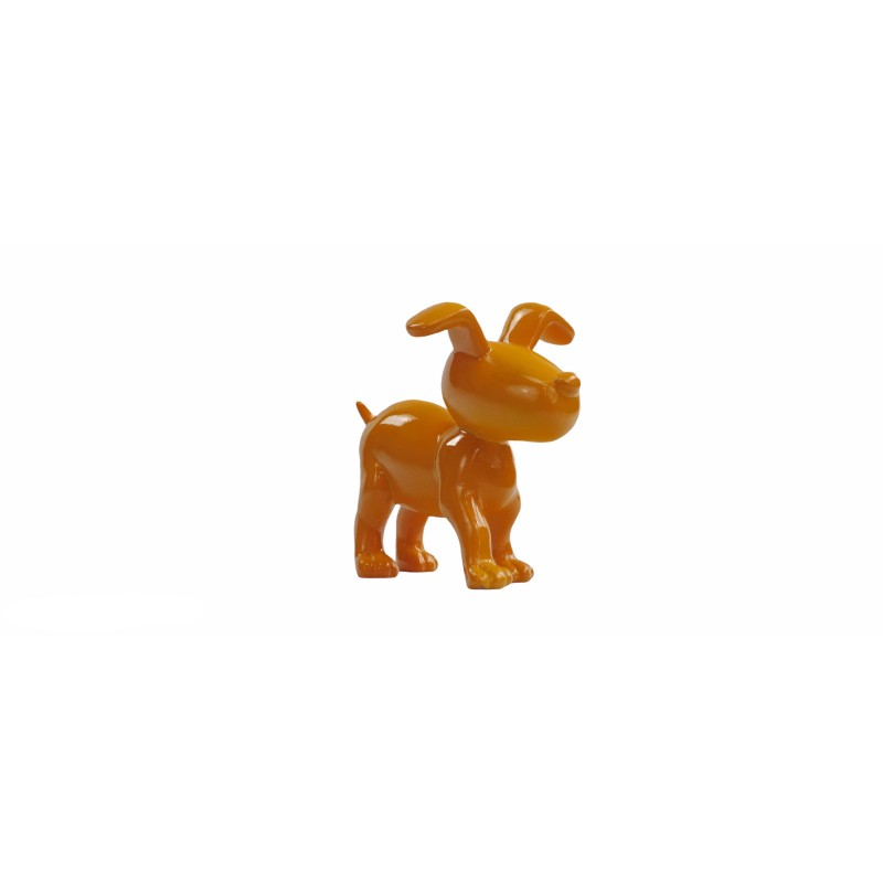 Conjunto de 6 esculturas de perros de diseño en resina (multicolor) - image 50023