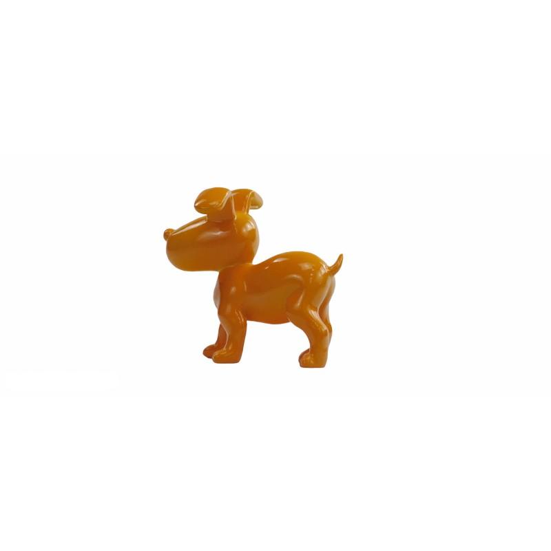 Conjunto de 6 esculturas de perros de diseño en resina (multicolor) - image 50025