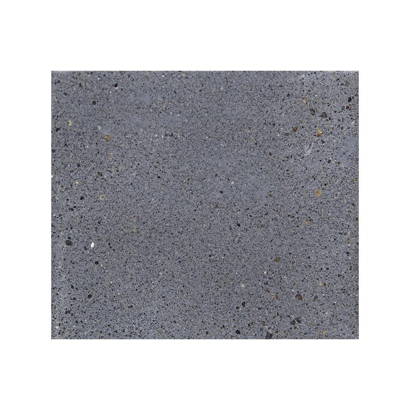 Banco de diseño de pie de teca maciza OXANA (160 cm) (gris) - image 50336