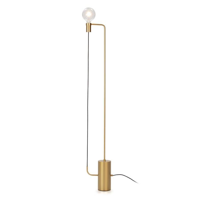 Lámpara De Pié 25X12X152 Metal Dorado
