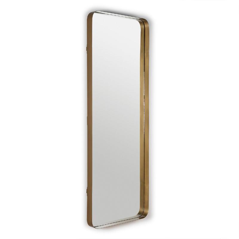 Espejo 70X7X190 Cristal Metal Dorado - image 50682