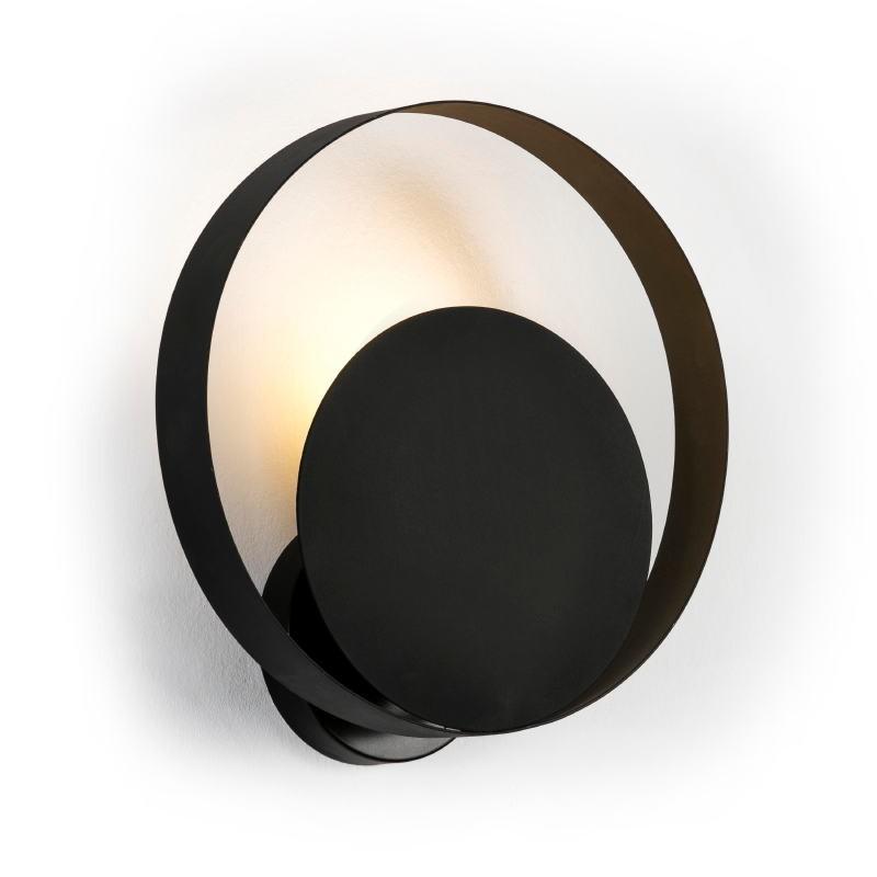 Wall Lamp 30X11X31 Metal Black - image 50898