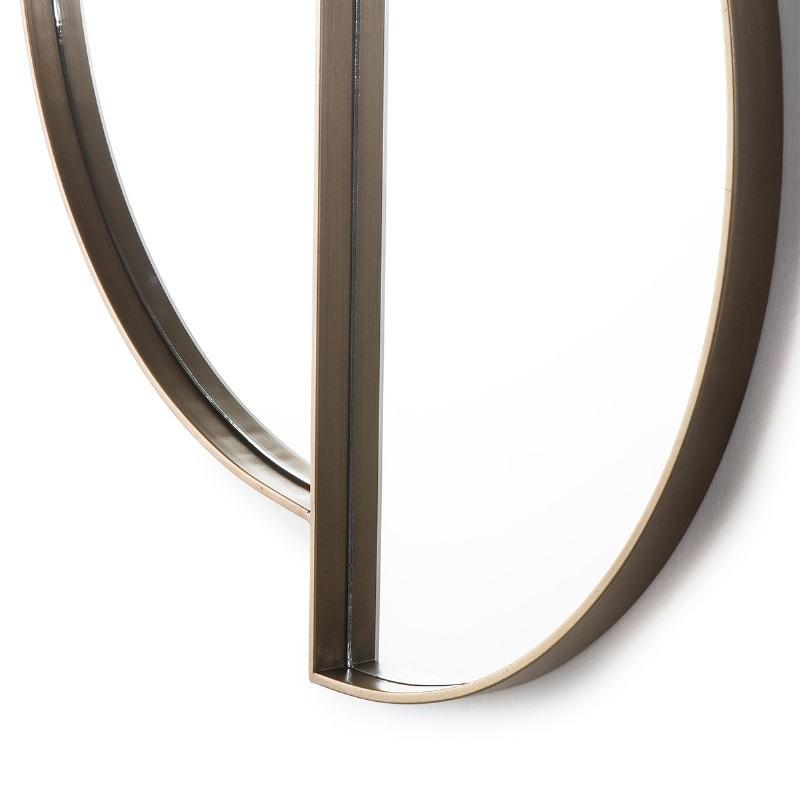 Espejo 73X3X80 Cristal Metal Dorado - image 51150