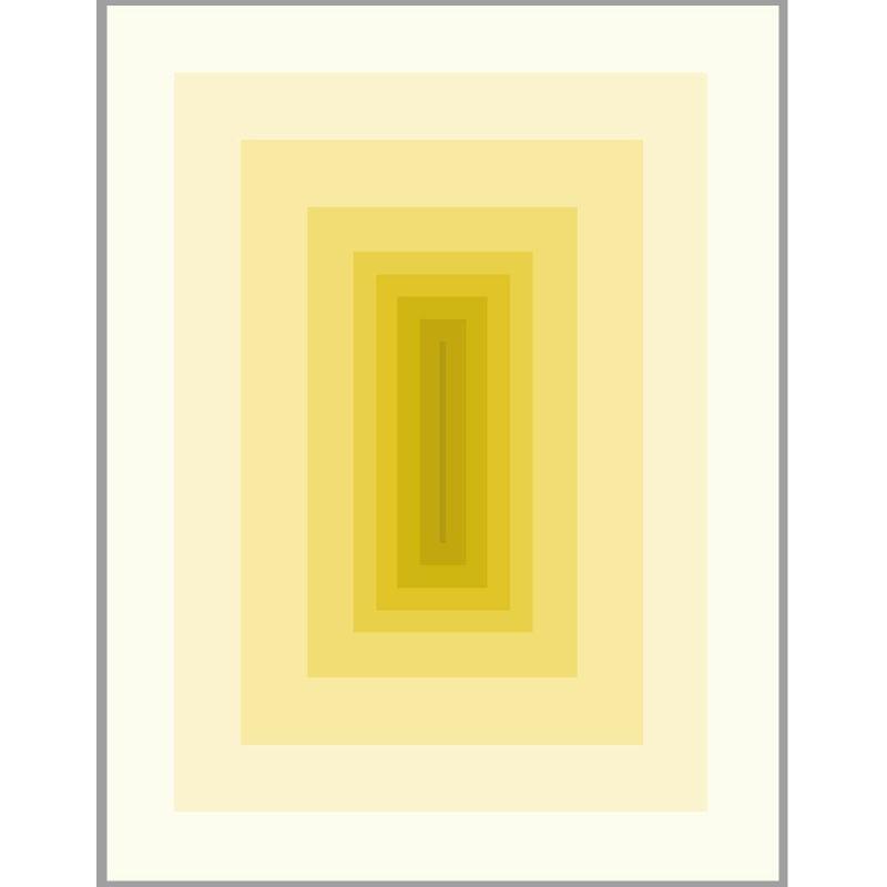 Frame 150X3X200 Methacrylate Yellow