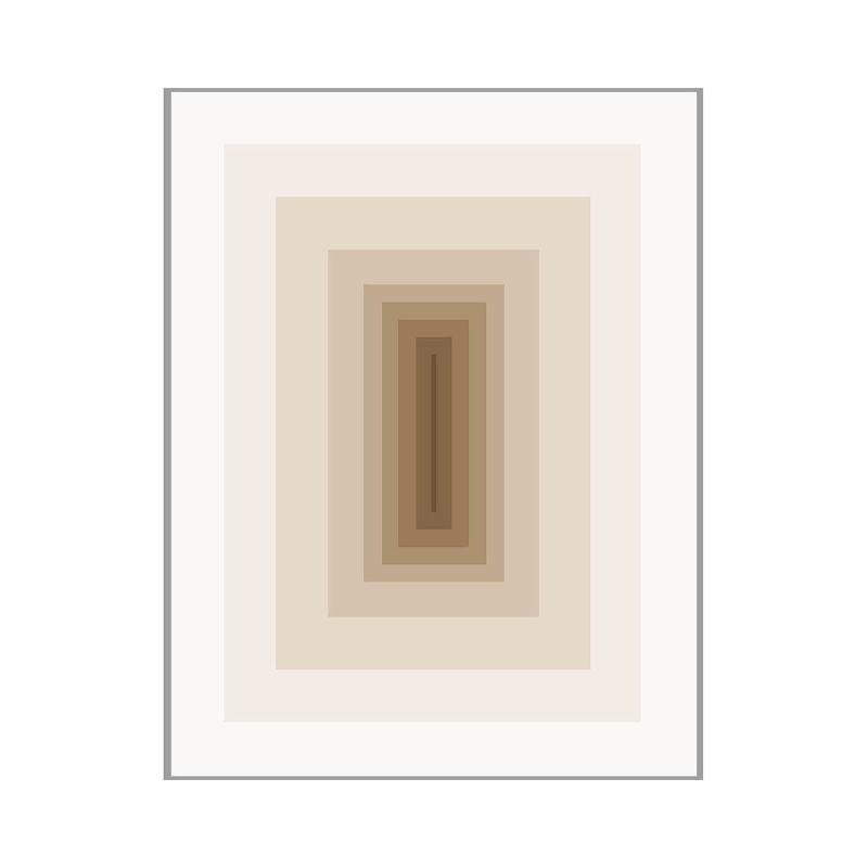 Frame 100X3X130 Methacrylate Brown